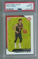 2018-19 Panini NBA Hoops Trae Young RC #250 PSA 10