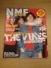 NME 2002 JUN 1 THE VINES THOM YORKE EMINEM BLUR FATBOY