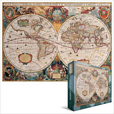 JIGSAW EG60001997 	 Eurographics Puzzle 1000 Pc - Antique World Map