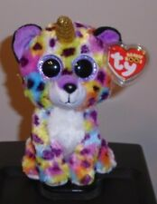 NEW 2019 Release Ty Beanie Boos ~ GISELLE the Unicorn Leopard w/ Horn ~ IN HAND