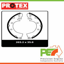 New *PROTEX* Brake Shoes - Rear For MITSUBISHI CORDIA AA 2D L/B FWD..