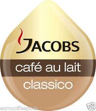 50 x Tassimo Jacobs Caffè au Lait da caffe 'T-Disc venduti sciolti 50 bevande