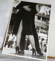 RPPC Provacative Sexy Dancers Oh La La Written On Photo Postcard