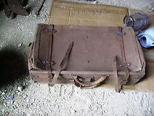 ancienne valise coffre de voiture 1900 French Antique Car Trunk