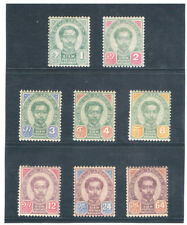 THAILAND 1887 - 1891 Second Issue MLH