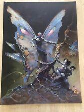 FRANK FRAZETTA The Moth Man No. 118  FANTASY Litho PRINT 17 X 23 Vintage Prints