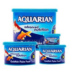 GENUINE AQUARIAN GOLD FISH FLAKE FOOD TANK AQUARIUM FLAKES 13G 25G 50G 200G