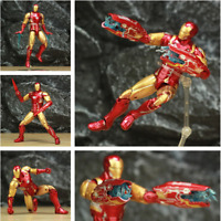 "Marvel Avengers 4 Endgame Iron Man MK85 7"" Action Figure Ironman Mark 85 Nano"