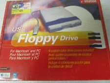 Imation Usb Floppy Drive for the Pc and Mac Model D353Fue - New Factory Sealed