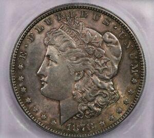 1878-S 1878 Morgan Silver Dollar ICG MS62