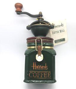 VINTAGE HARRODS KNIGHTSBRIDGE COFFEE MILL/GRINDER (never been used)!!!