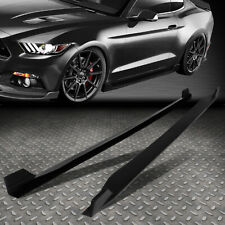 FOR 2015-2017 FORD MUSTANG PAIR SIDE SKIRTS UNDER BOARD EXTENSION PANEL BODY KIT