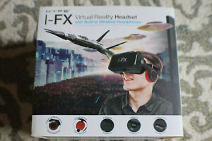 Hype I-FX VR Virtual Reality Headset W Built-In Wireless Headphones Kids VR