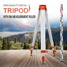Baustativ Nivellierstativ für Rotationslaser bis 1.63M Baustativ + 5m Maßstab
