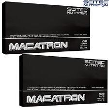 MACATRON 108/216 CAPS. HARDCORE TESTOSTERONE BOOSTER * LOWERS ESTROGEN DAA