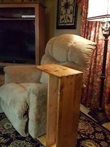 wooden tv trays Sofa / Recliner / Chair Shelf Tray Server