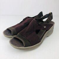 BZees Womens Desire Fabric Open Toe Casual Sandals, Beige, Size 8.5M