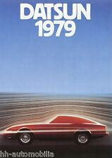Prospetto DATSUN 1979 auto prospetto Cherry Sunny Violet BLUEBIRD Skyline 280 ZX