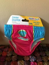 Baby Girl Swim Diaper,Cloth, Reusable,Snug Fit Size S 6 months 13-18 lb NWT CUTE
