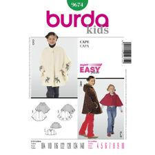 Burda Easy SEWING PATTERN 9674 Girls Capes Age 4-10