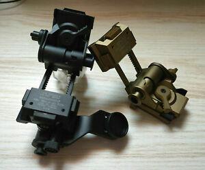 Helmet Metal L4G24 NVG Mount + Metal J Arm Bracket for 14 AN/PVS NVG Goggles