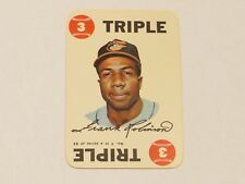 1968 Topps Game #17 Frank Robinson Triple