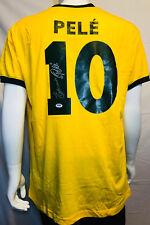 Edson Pele Signed Autographed Brazil Soccer Jersey Full Name w/ Edson - PSA/DNA