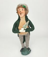New ListingRare Vintage 1979 Byers Choice Christmas Caroler Man With Tree