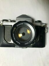 Honeywell Pentax H1a 35mm Film SLR Camera w/ Asahi Super-Takumar 1:2/55mm