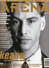 ARENA #52 07-08/1995 KEANU REEVES Rod Stewart ELVIS COSTELLO Denzel Washington