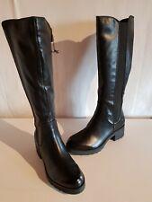 Marco Tozzi Damen Stiefel mit Reißverschluss Farbe schwarz Größe 38 NEU