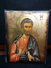 Saint Judas Thaddaeus St Jude the Apostle Greek Byzantine Orthodox Icon 14x20cm