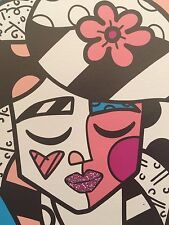 "Romero Britto: original ""WHERE ARE YOU?"", Leinwand, handsigniert, limitiert"