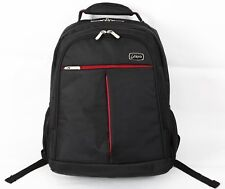 15.6 inch Laptop Backpack Case Bag (Black and Red)