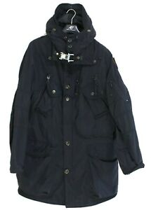 PARAJUMPERS Men's Jacket Size M Slim FIt Hooded Black