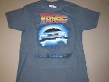 Men's Back To The Future T-Shirt Official Movie Classic Retro 80's 90's MEDIUM