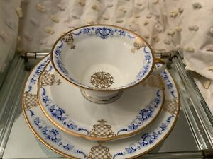Three Piece Dessert, Tea Set, Rosenthal