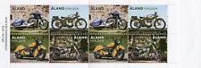 More details for aland motorcycles stamps 2018 mnh harley davidson indian chief 8v set booklet