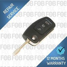 Ford Focus Ka Mondao Fiesta Transit Remote Key Flip Fob Repair Service