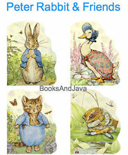 Peter Rabbit,Jemima Puddle-Duck,Tom Kitten,Mr Jeremy Fisher 4 Lg Board Books NEW