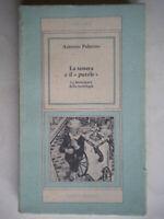 La tessera e il puzzle letteratura della sociologia Palermo guida libro co nuovo