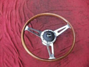 LeCarra  LECARRA Wood Steering Wheel rat hot street rod Cobra Shelby Corvette