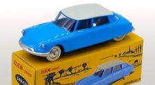 DAN TOYS  Citroën DS 19 Bleu / Toit Gris Clair (Série de 500 Exemplaires
