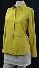 J.CREW Laura Femme Fit Button Front Shirt top blouse french fold up cuff 2 S NEW