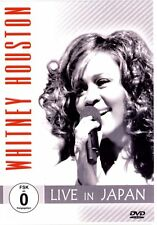 WHITNEY HOUSTON - Live in Japan  DVD/NEU/OVP