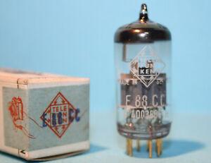 1x TELEFUNKEN <> E88CC NEW OLD STOCK IN BOX VACUUM TUBE MIL SPEC