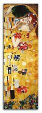 Gustav Klimt -Der Kuss -150x50 Ölgemälde Handgemalt Leinwand Signiert