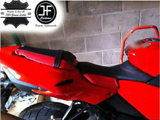 RED AND BLACK CUSTOM FITS BENELLI TORNADO 900 TRE FRONT SEAT COVER