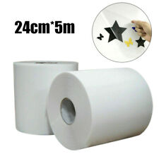 5m/Roll Clear Sign Vinyl Application Tape Sticky Decal Sticker  Transfer Paper*