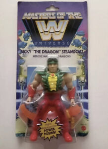 """WWE MOTU Masters Of The Universe RICKY """"THE DRAGON"""" STEAMBOAT Wave 5 New"""